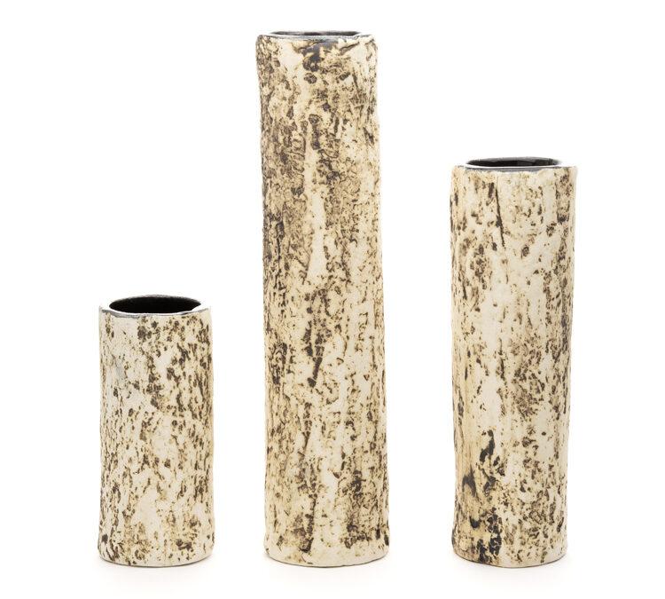 Valerie Schnaufer Birch Vases Set